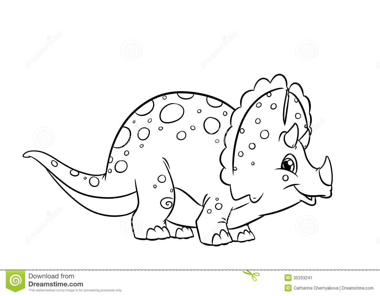 1300x1012 Bonanza Triceratops Coloring Page Dinosaur Pages Stock