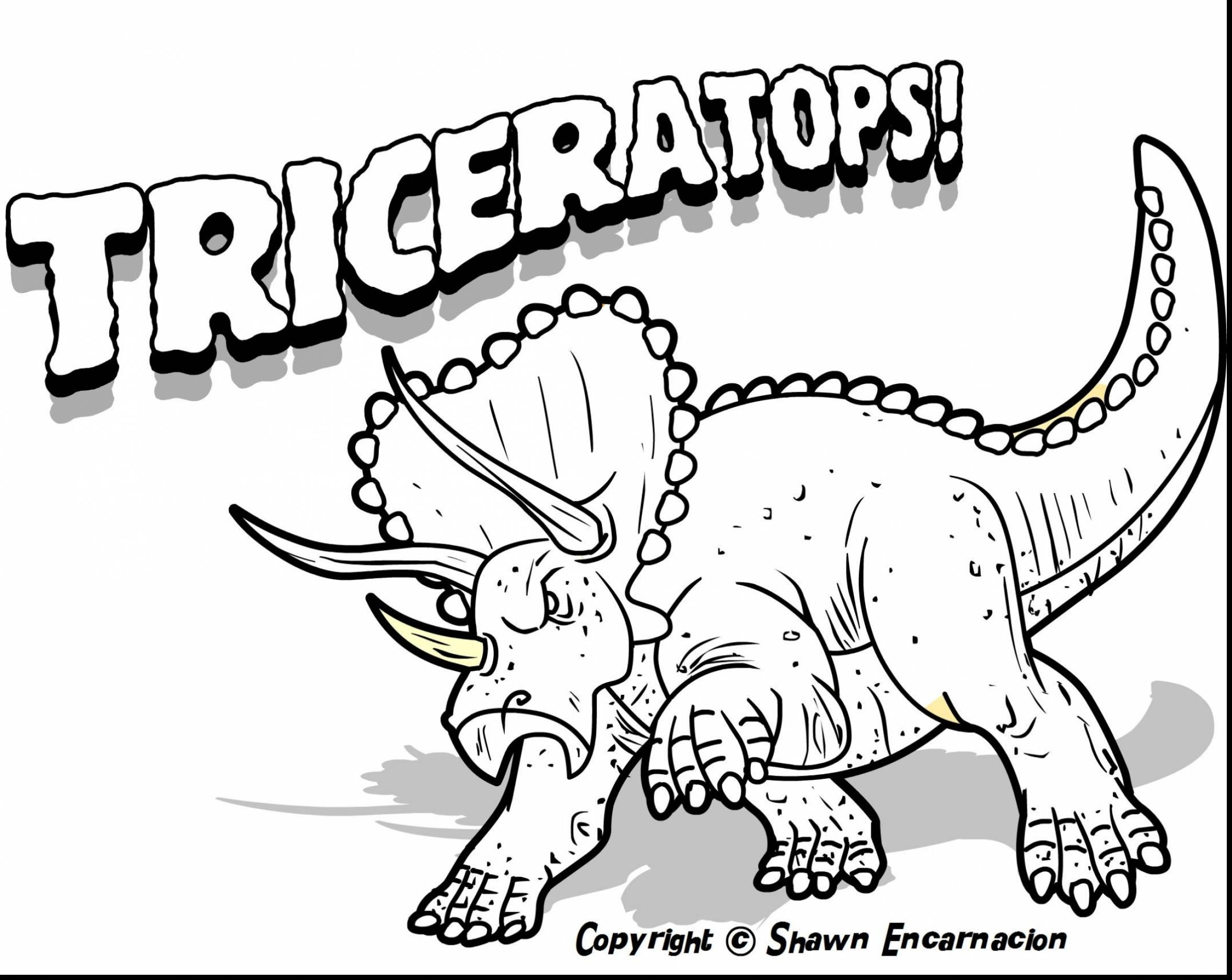 2358x1876 Beautiful Dinosaur Coloring Pages With Names Dinosaurs Free