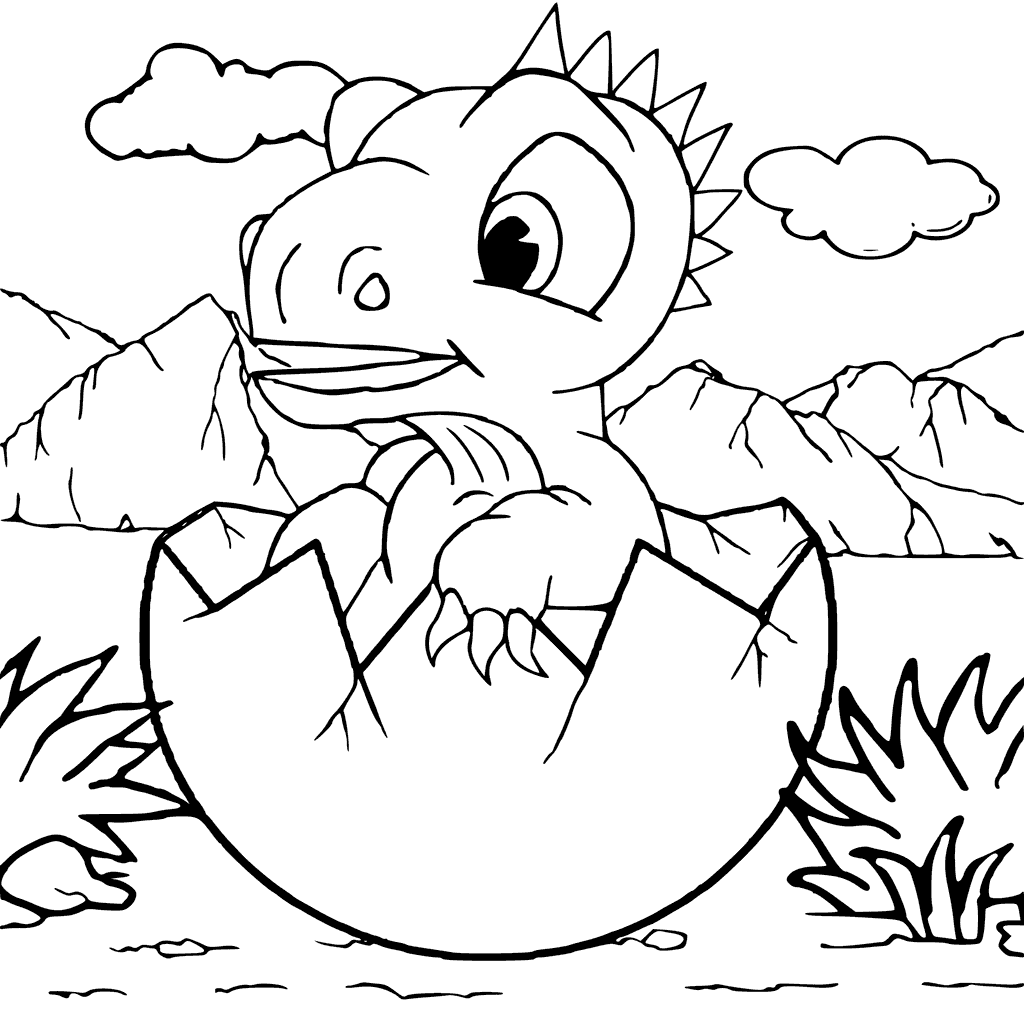 1024x1024 Diplodocus Coloring Pages