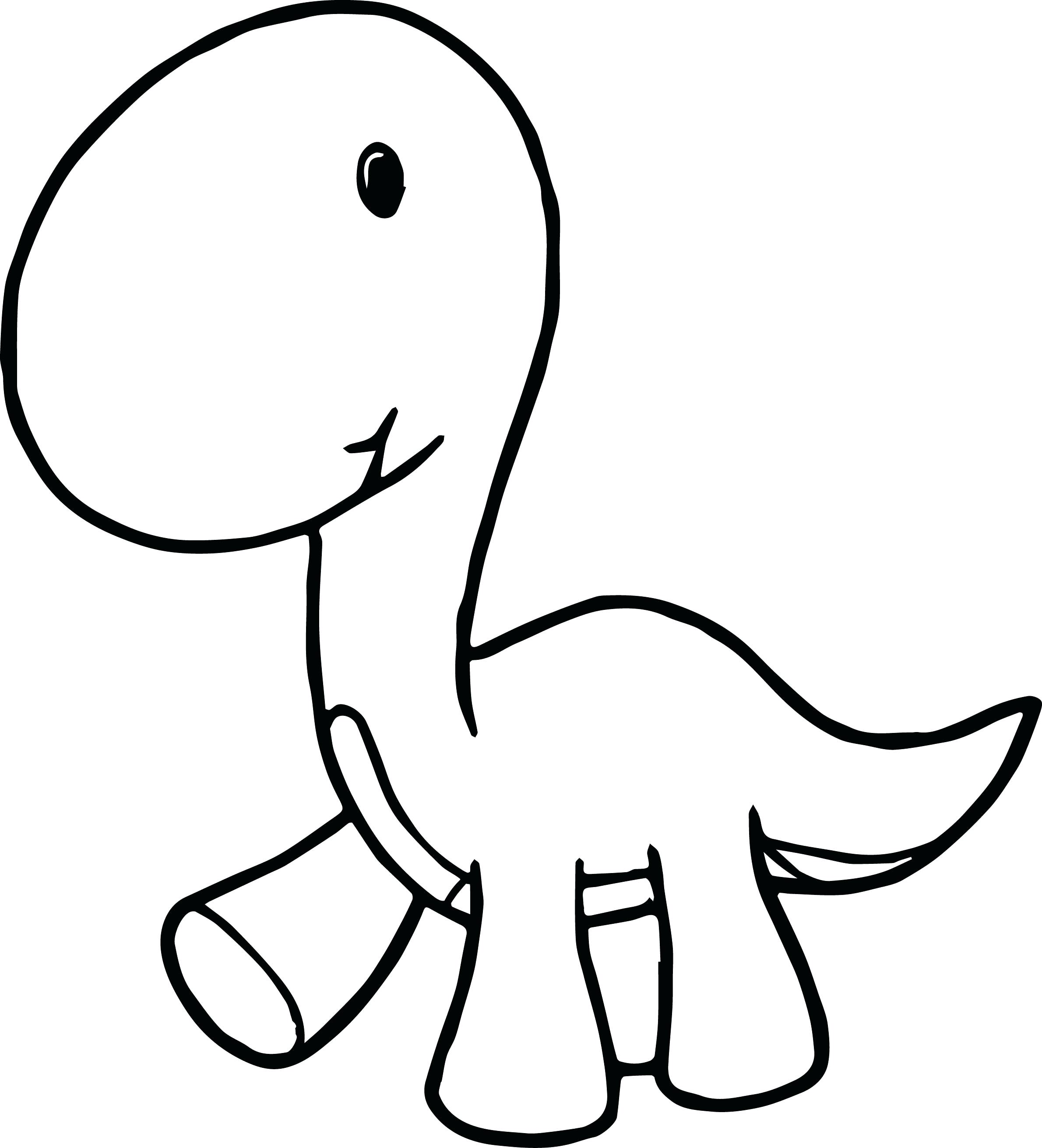 2380x2622 Baby Dinosaur Coloring Pages