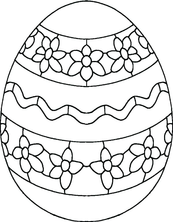 600x772 Eggs Coloring Pages Eggs To Coloring Pages Egg Coloring Pages