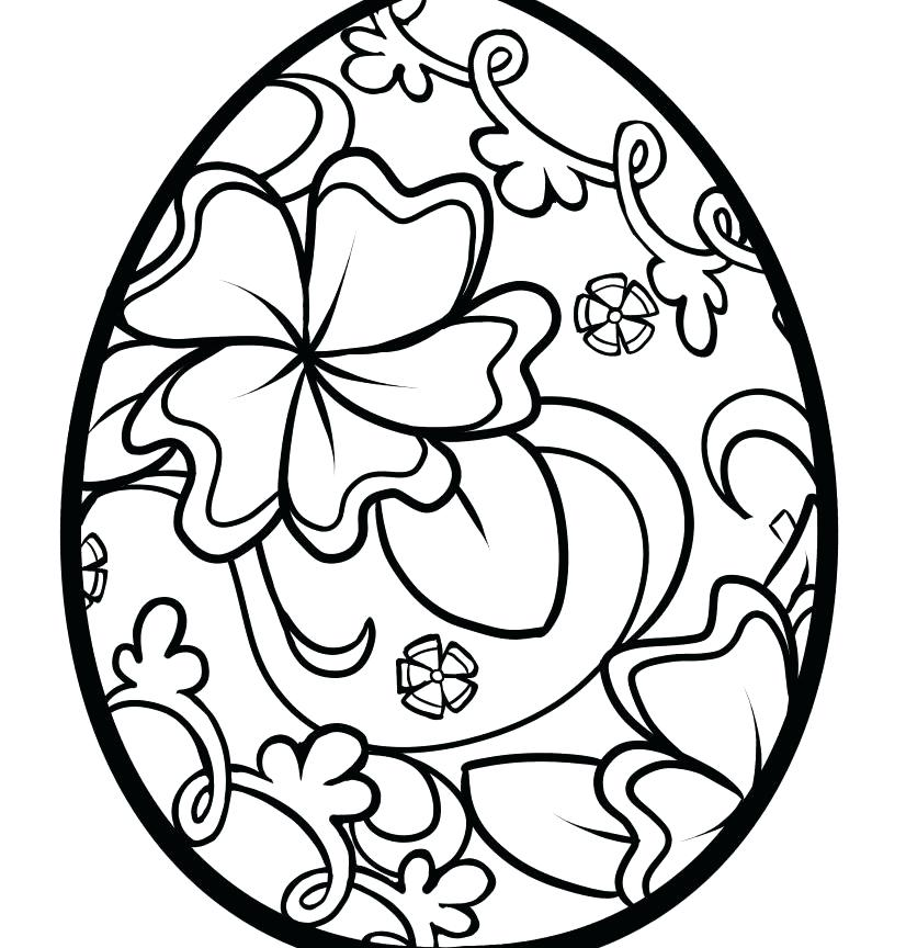 826x864 Eggs Coloring Pages