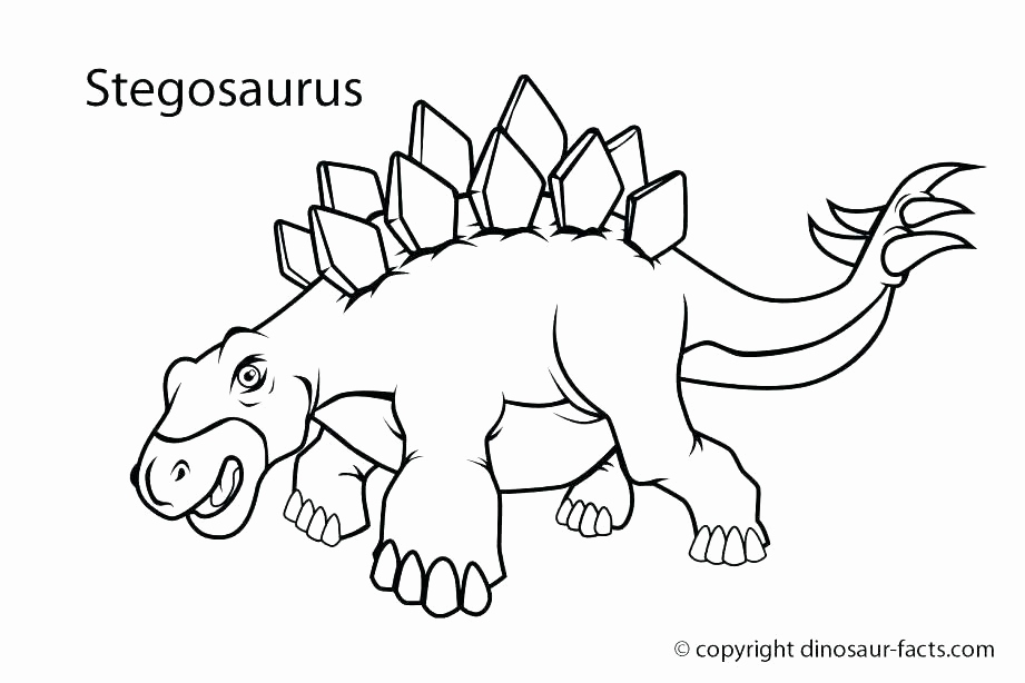Dinosaur Footprint Coloring Page