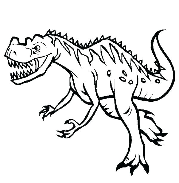 600x612 Dinosaur Print Out Coloring Pages Free Printable Dinosaur Coloring