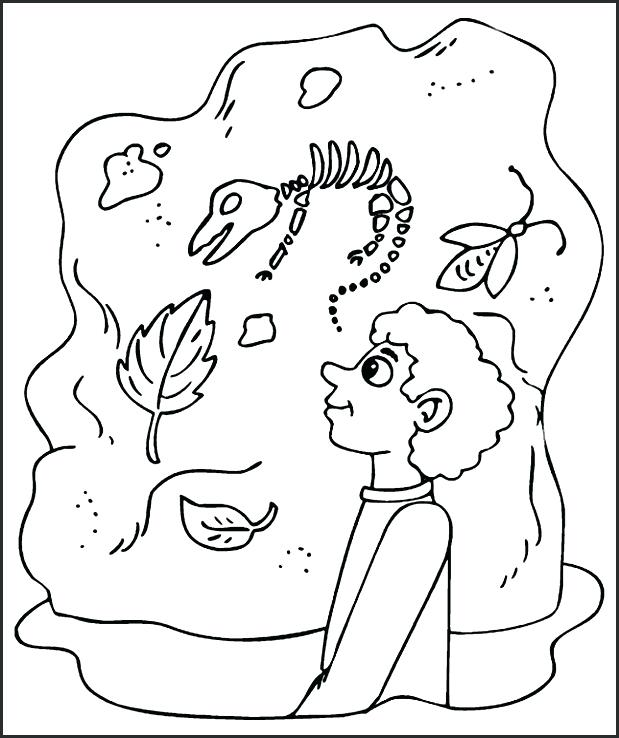 619x738 Fossil Coloring Pages Contents Fossil Fuel Coloring Pages