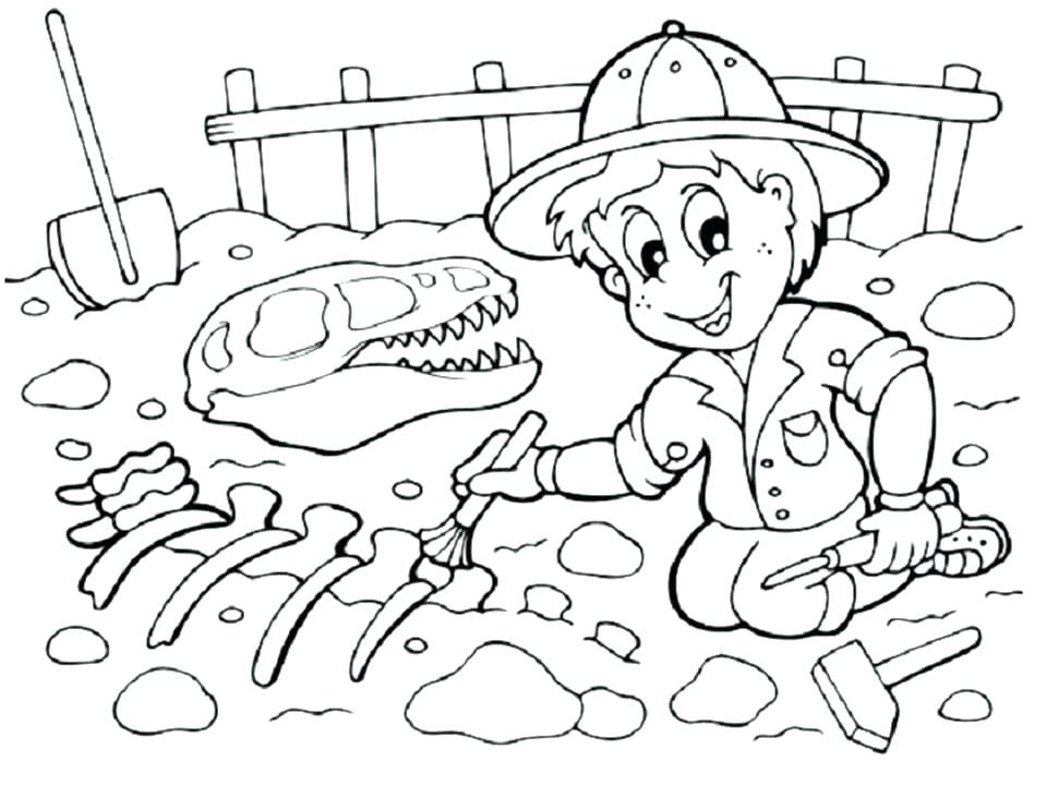 960x720 Fossil Coloring Pages Printable Dinosaur Coloring Pages Me