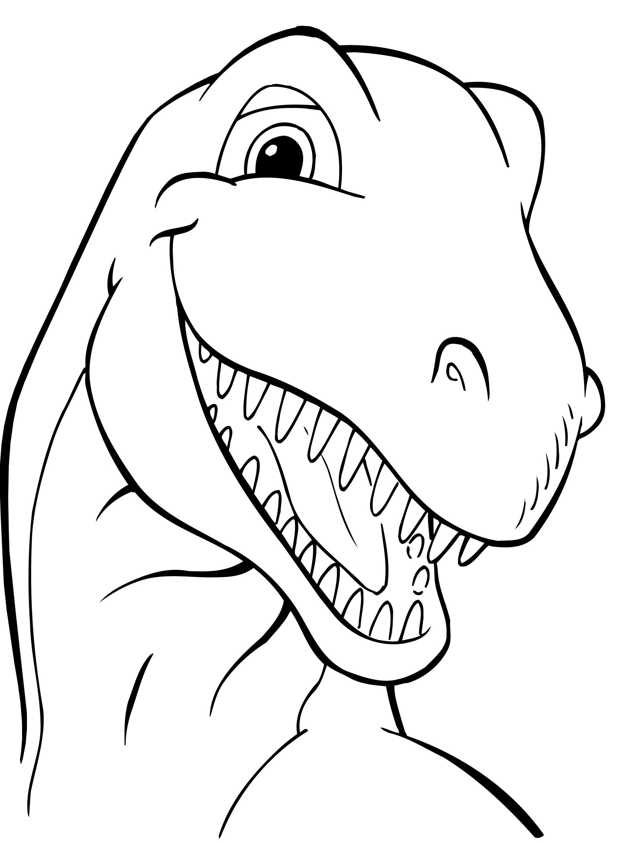 2094x2793 Head Dinosaurs Coloring Picture For Kids Toddler Class