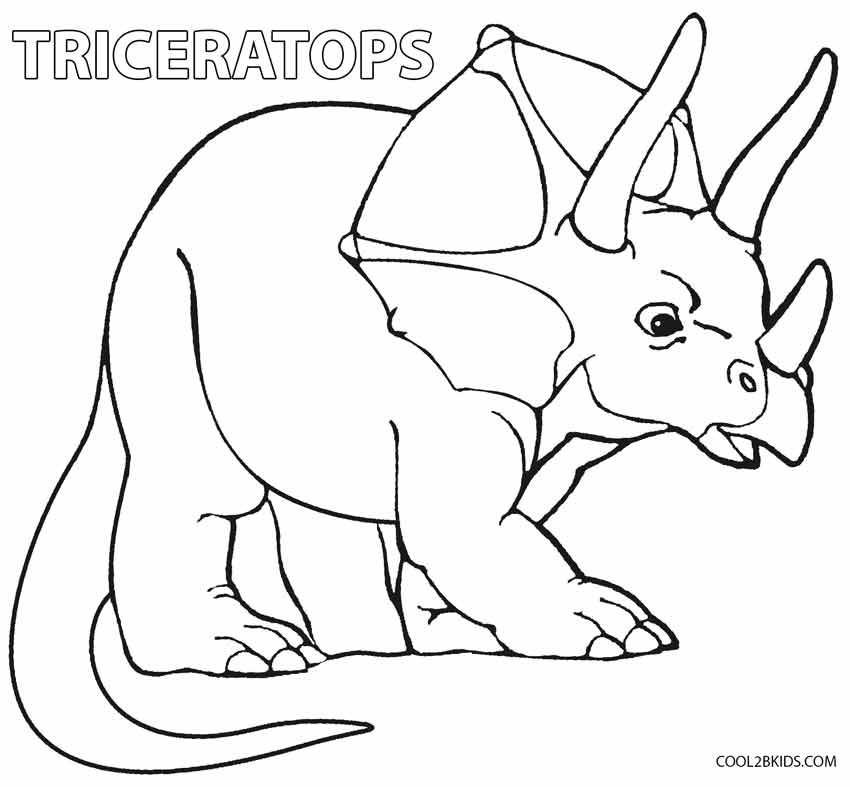 Dinosaur Head Coloring Pages At GetDrawings Free Download