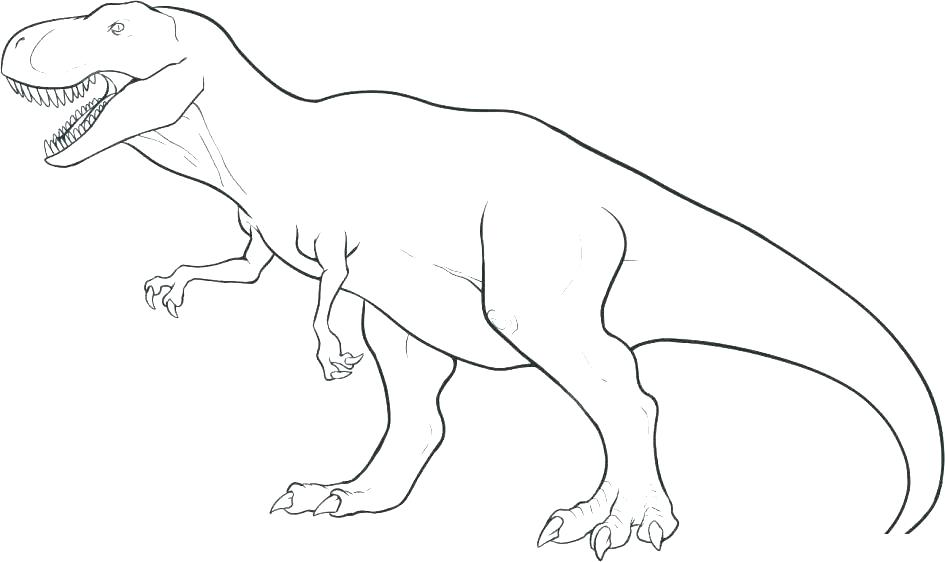 Dinosaur Kids Coloring Pages At Getdrawings Com Free For