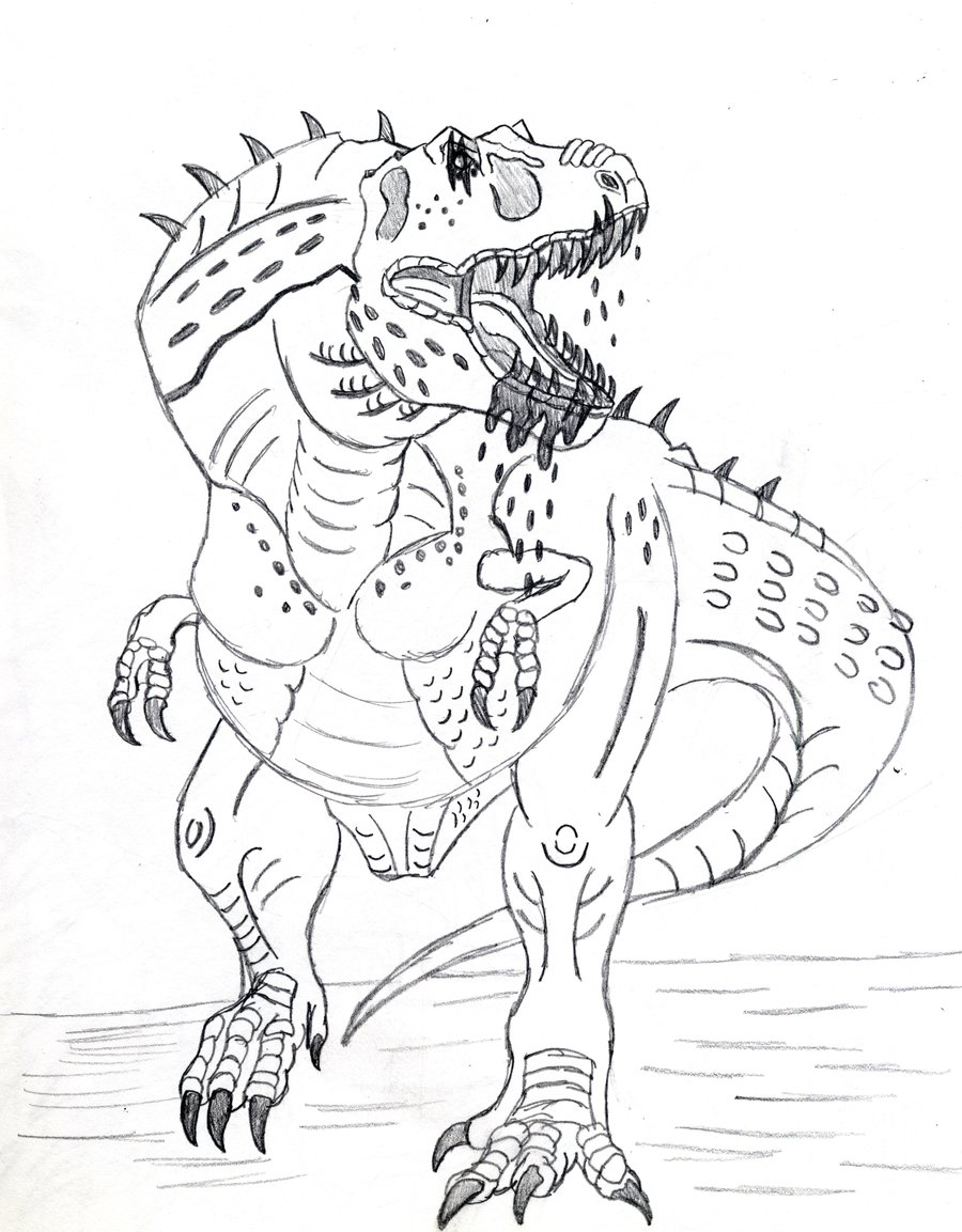 Dinosaur Kids Coloring Pages At Getdrawings Com Free For Personal