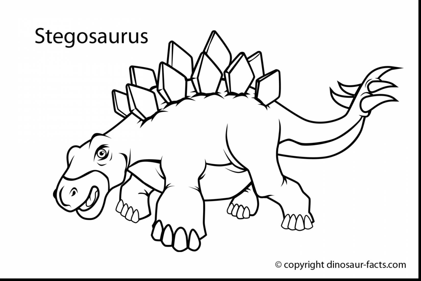 1650x1100 Great Dinosaurs Kids Coloring Pages Printables With And Dinosaur