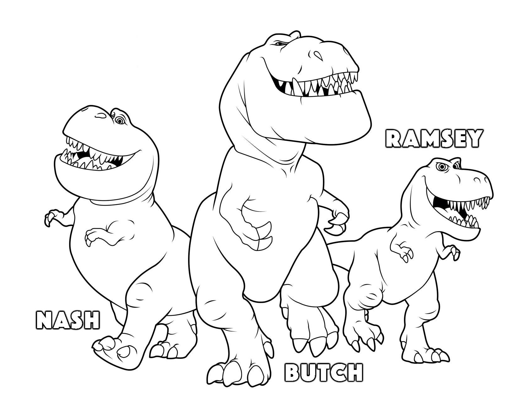 1650x1275 Peachy Ideas Coloring Is Good For Kids The Dinosaur Butch Ramsey