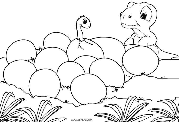750x514 Printable Dinosaur Coloring Pages For Kids