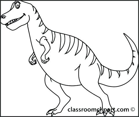 480x406 Dinosaur Outline Coloring Pages Dinosaur Coloring Pages Free