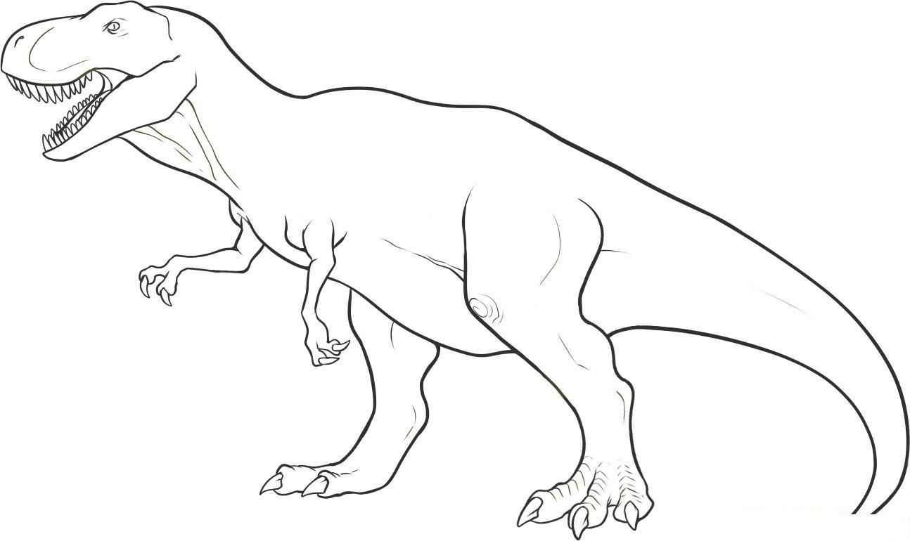 1294x770 Free Coloring Pages Dinosaurs Timykids