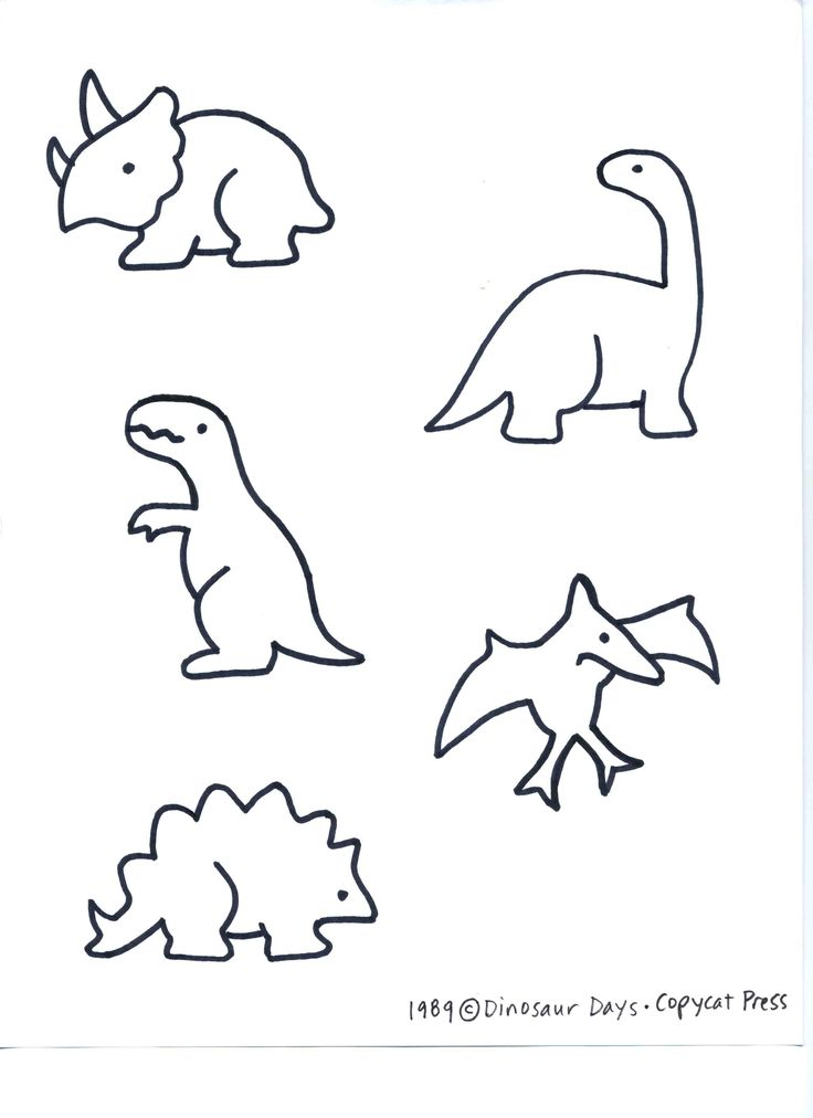 image regarding Dinosaur Outline Printable known as Dinosaur Determine Coloring Internet pages at  No cost