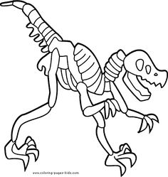 236x249 Skeleton Coloring Pages