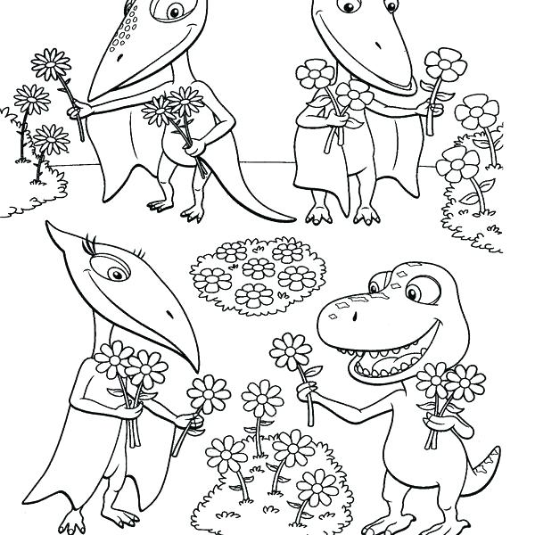 600x600 Dinosaur Train Coloring Book Dinosaur Train Coloring Page Dinosaur