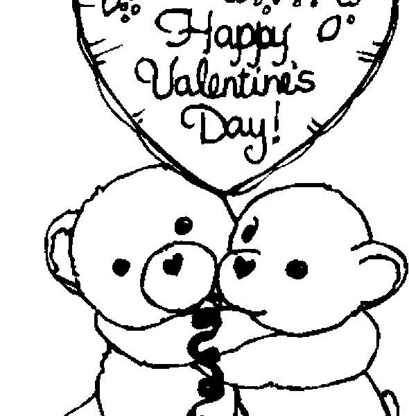 590x600 Valentine Coloring Pages Free Coloring Pages