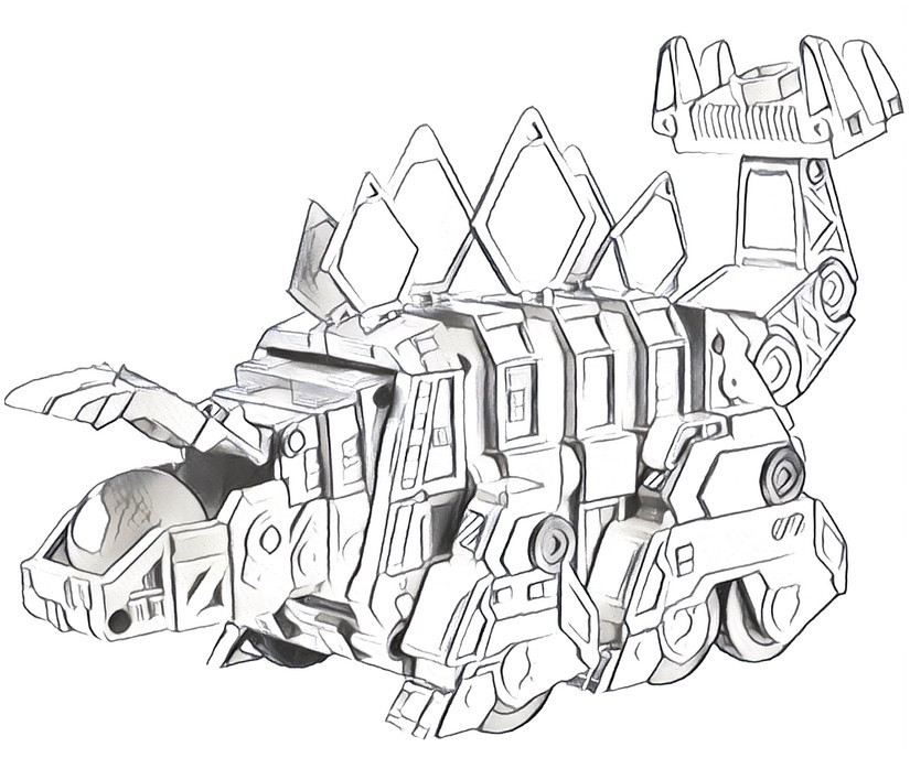 The Best Free Dinotrux Coloring Page Images Download From 41 Free