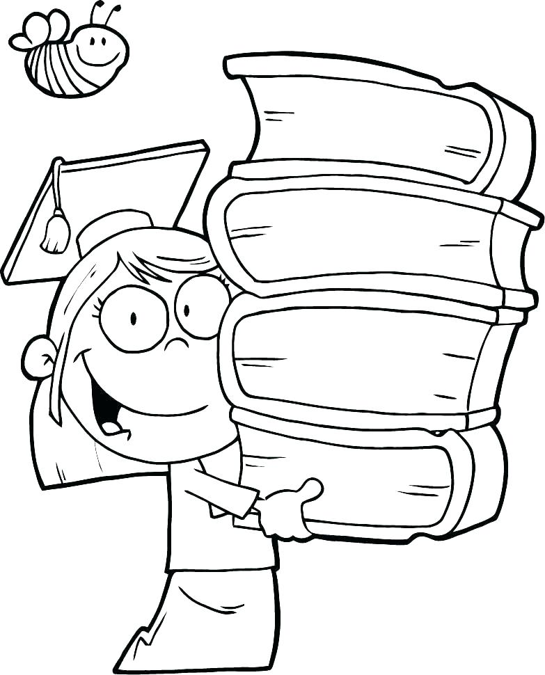 783x970 Graduation Cap Coloring Page Graduation Coloring Pages Classy