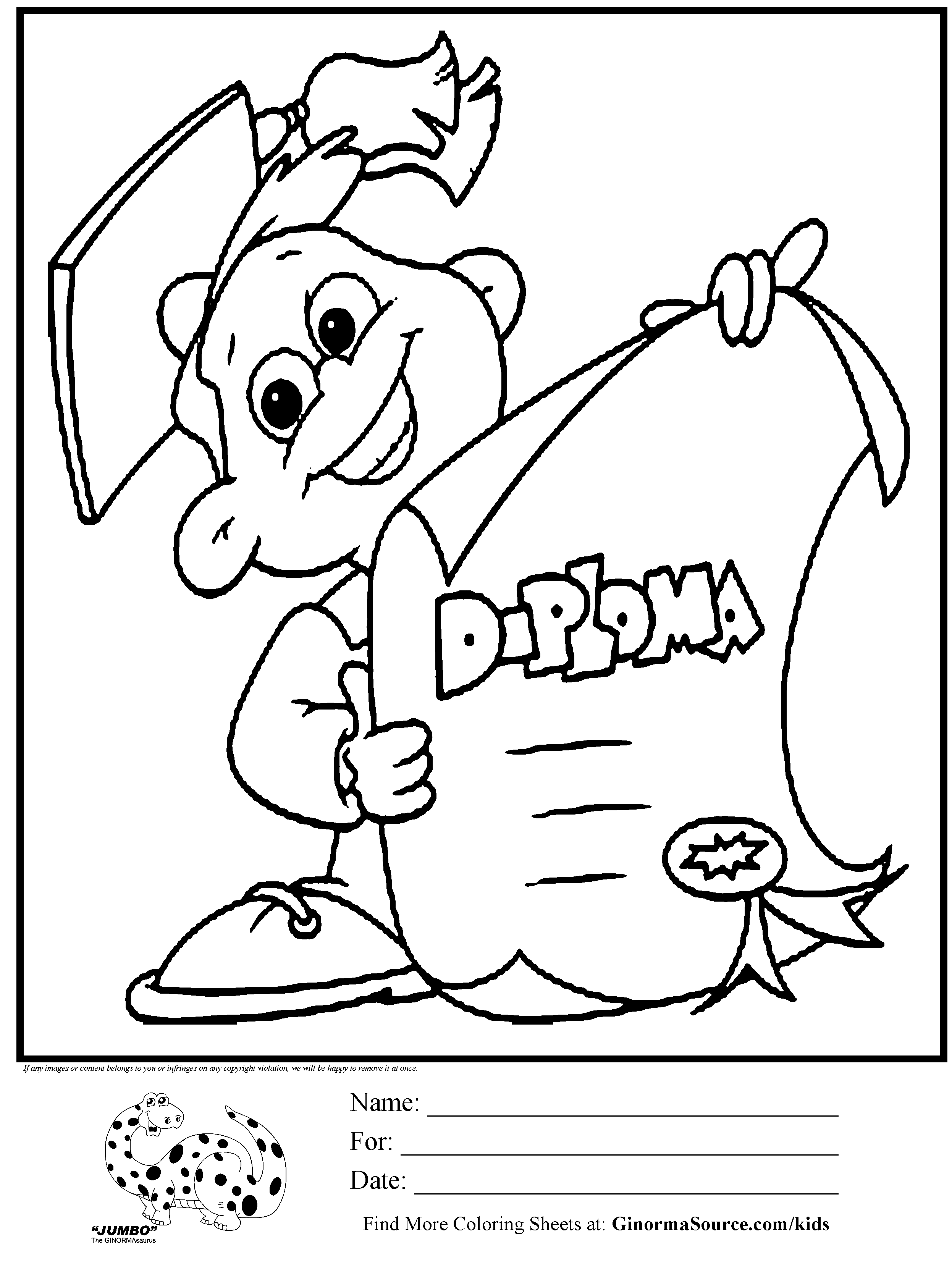 2493x3310 Kindergarten Diploma Coloring Page Party Ideas
