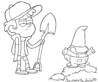 Dipper Pines Coloring Pages