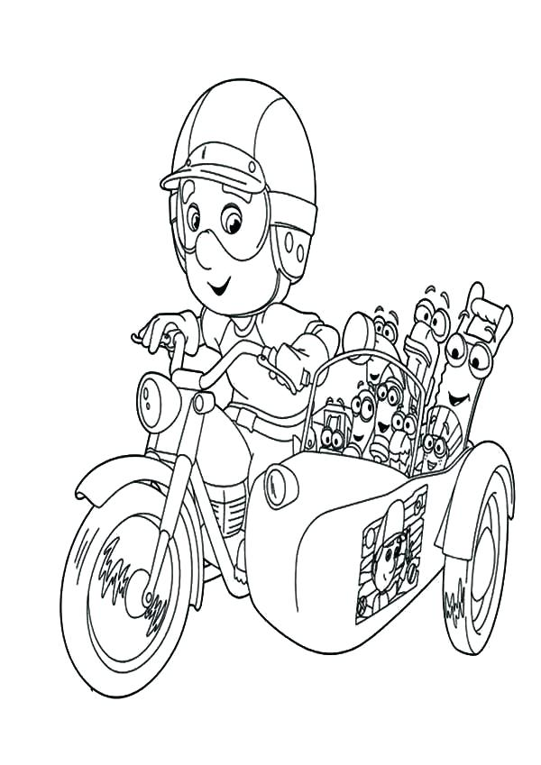 600x849 Dirt Bike Coloring Page Bike Coloring Page Handy With Friends