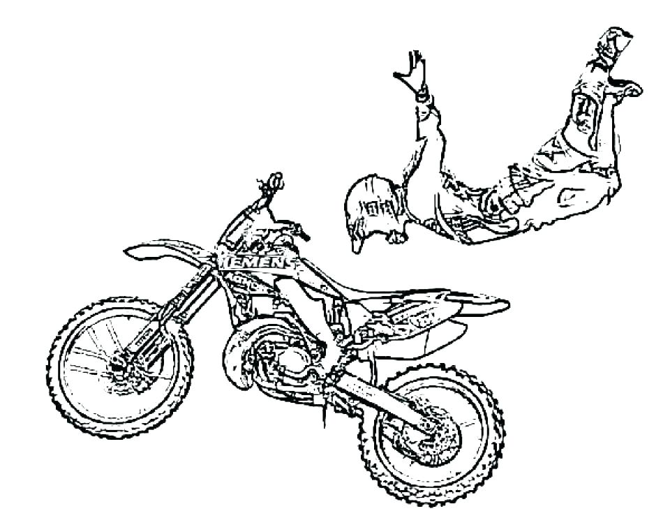 960x742 Dirt Bike Coloring Page Dirt Bike Colouring Pages To Print Duck