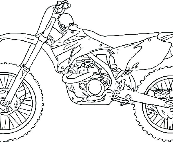 678x556 Bicycle Coloring Pages Dirt Bike Coloring Pages Related Post Dirt