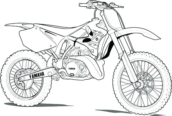 600x406 Dirt Bike Coloring Pages Dirt Bike Coloring Page New Dirt Bike