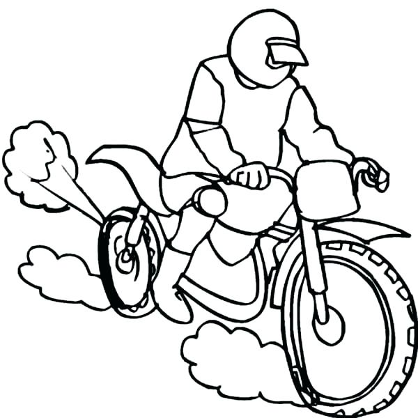 600x600 Dirt Bike Helmet Coloring Pages Dirt Bike Color Pages Dirt Bike