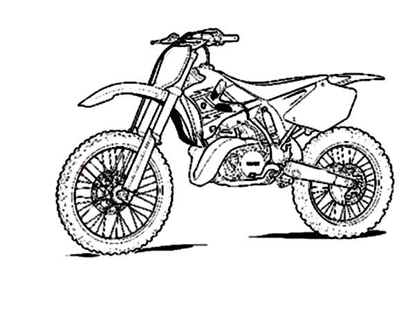 dirt bike coloring pages at getdrawings  free download