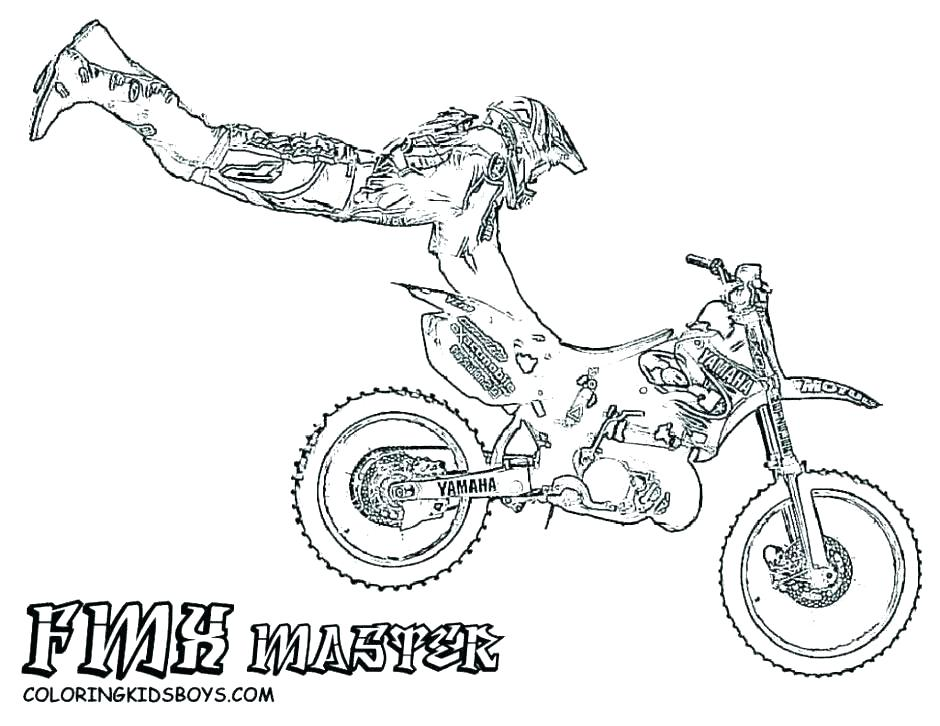 940x726 Pictures Of Dirt Bikes To Color