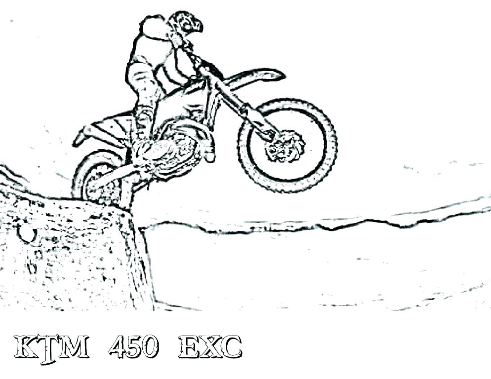 994x768 Bike Coloring Page S S Dirt Bike Coloring Pages Printable