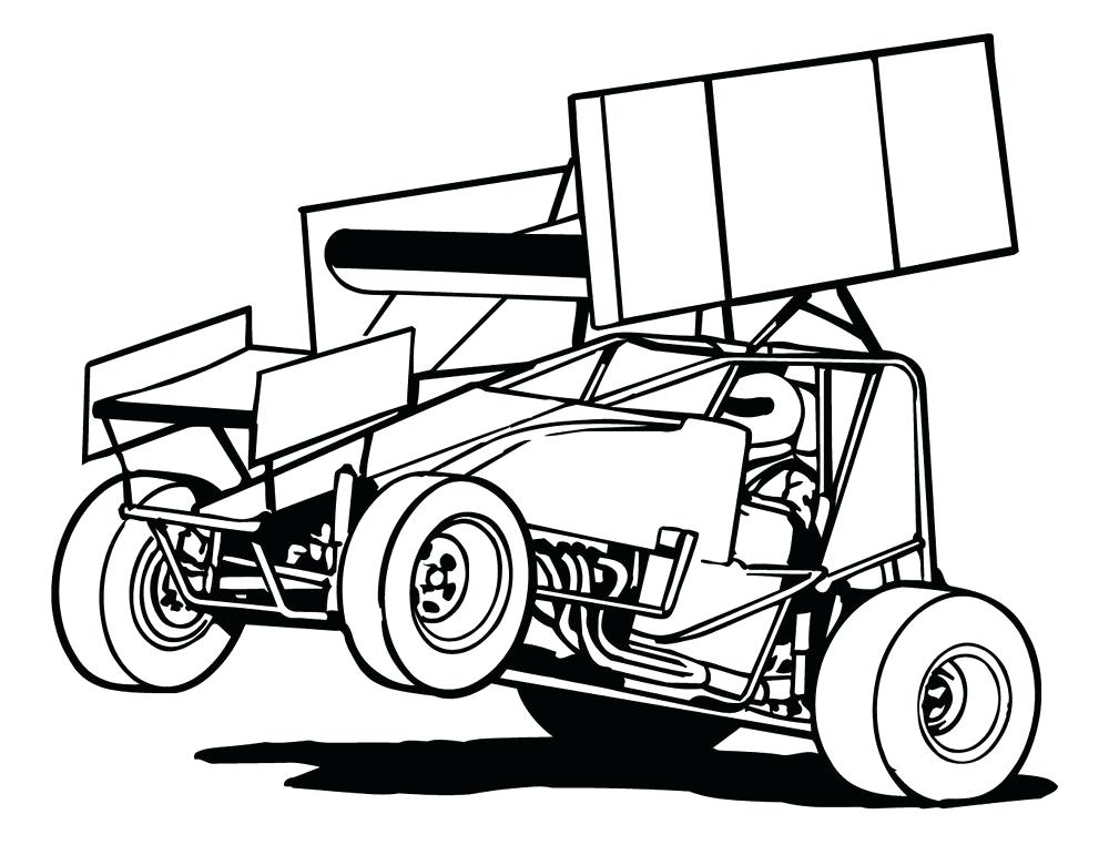 1000x771 Dirt Late Model Coloring Pages Home Improvement Loans Michigan