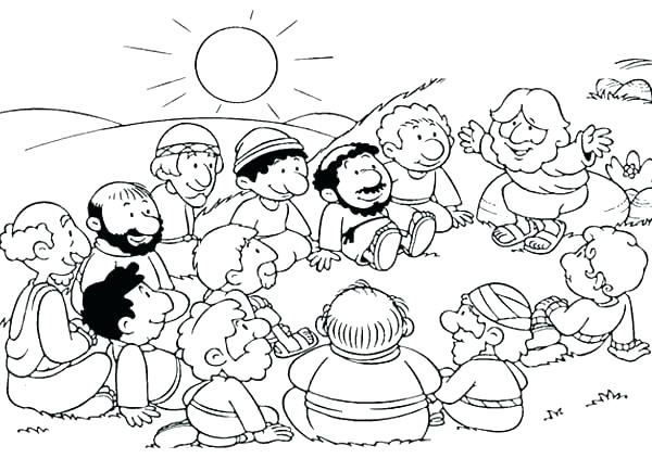 Disciples Coloring Pages Printable at GetDrawings.com | Free ...