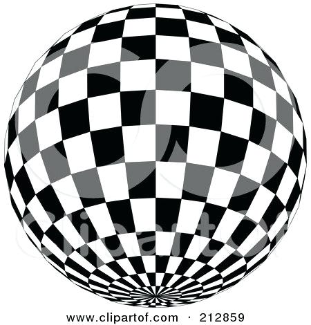 450x470 Disco Ball Coloring Page Checkered Black And White Disco Ball