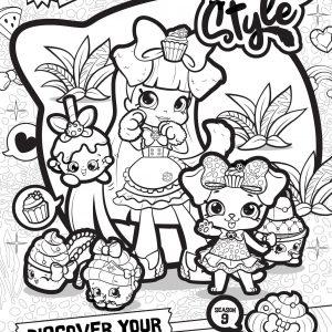300x300 Printable Shopkins Coloring Pages Season Copy Print Fruit Apple