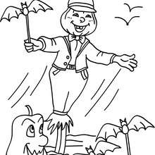 220x220 Disco Strawman Coloring Pages