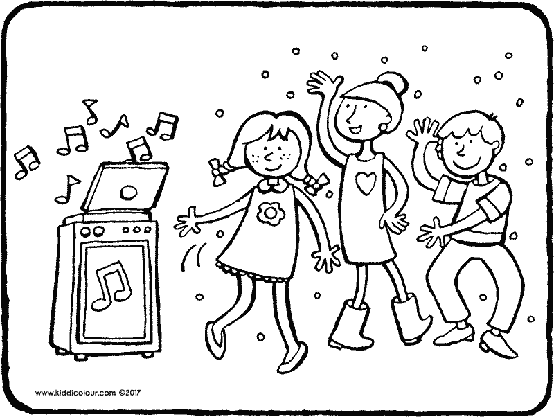 800x602 Music Colouring Pages
