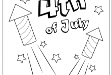 Disney 4th Of July Coloring Pages