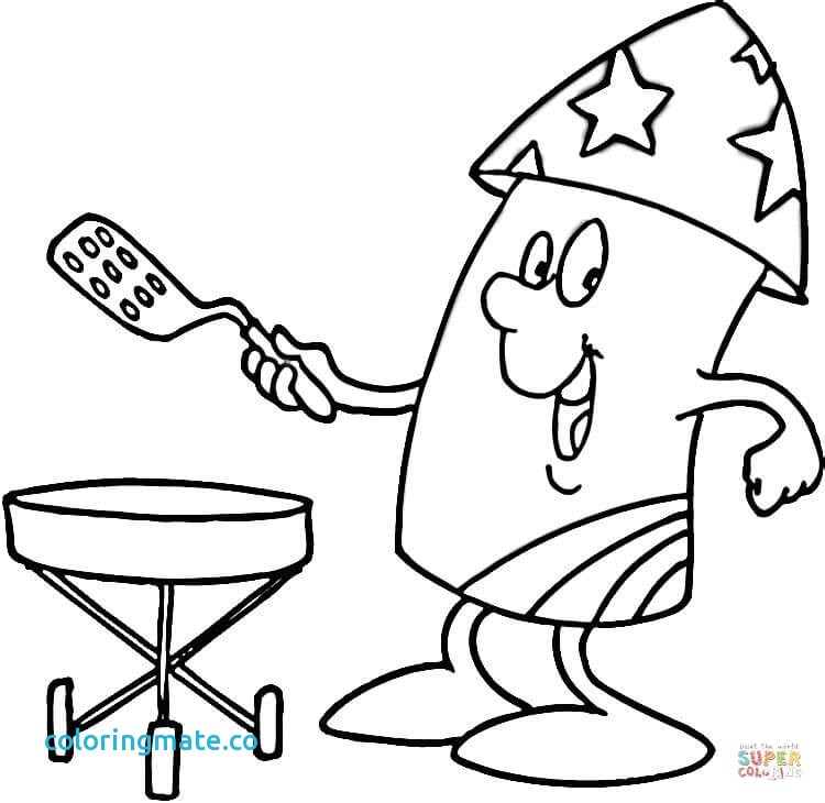 750x730 Fourth Of July Coloring Pages Beautiful Of July Bbq Coloring