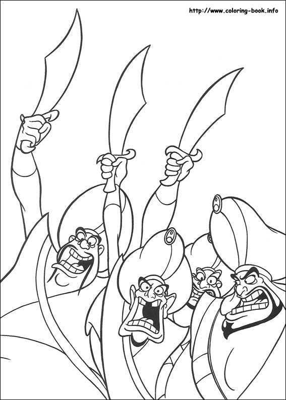 567x794 Aladdin Coloring Pages On Coloring