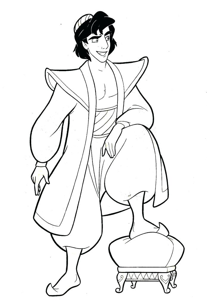 696x1024 Disney Aladdin Coloring Pages Coloring Pages Jasmine Cartoon