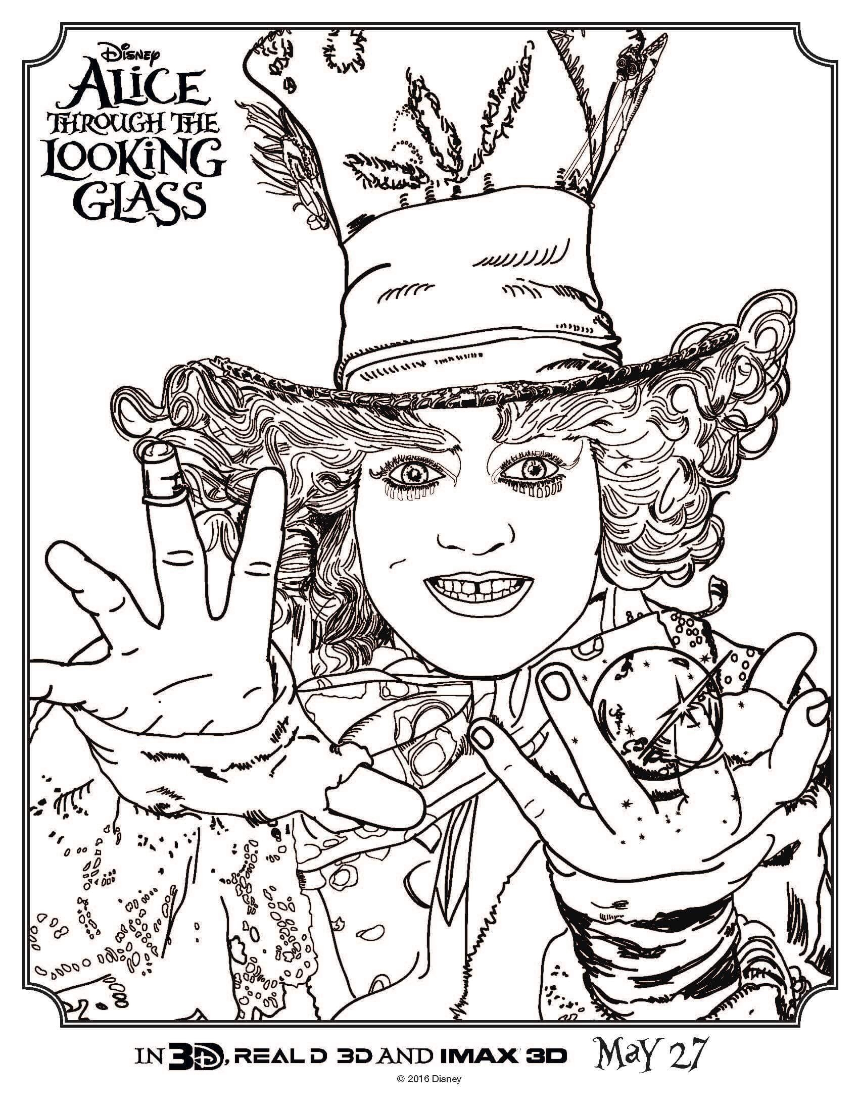 1700x2200 Finest Alice In Wonderland Coloring Pages From Alice In Wonderland