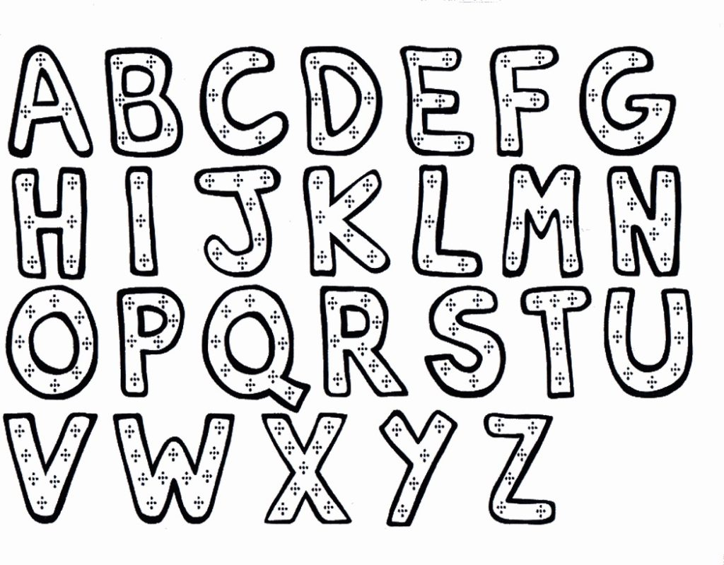 1024x799 Disney Alphabet Coloring Pages Page Alphabet Coloring Pages