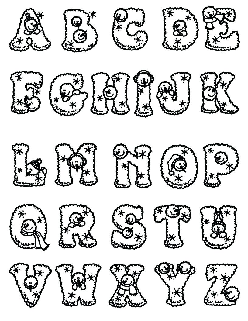 photo relating to Disney Letters Printable referred to as Disney Alphabet Coloring Web pages at  No cost for