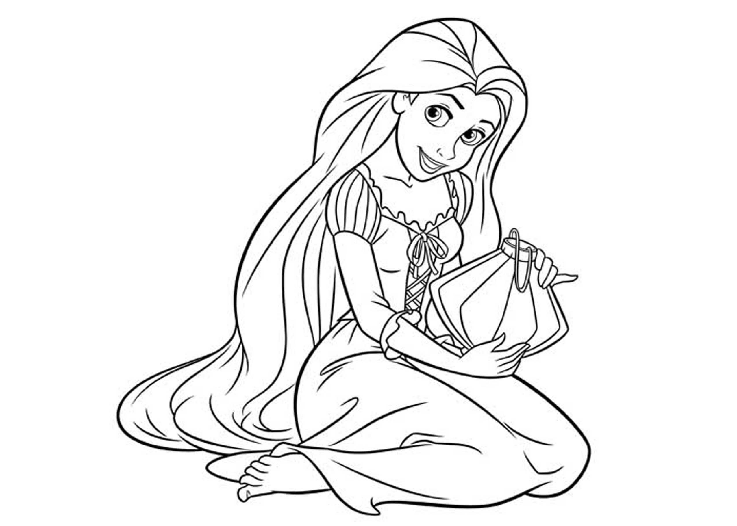 2550x1821 Princess Coloring Pages Printable Collection