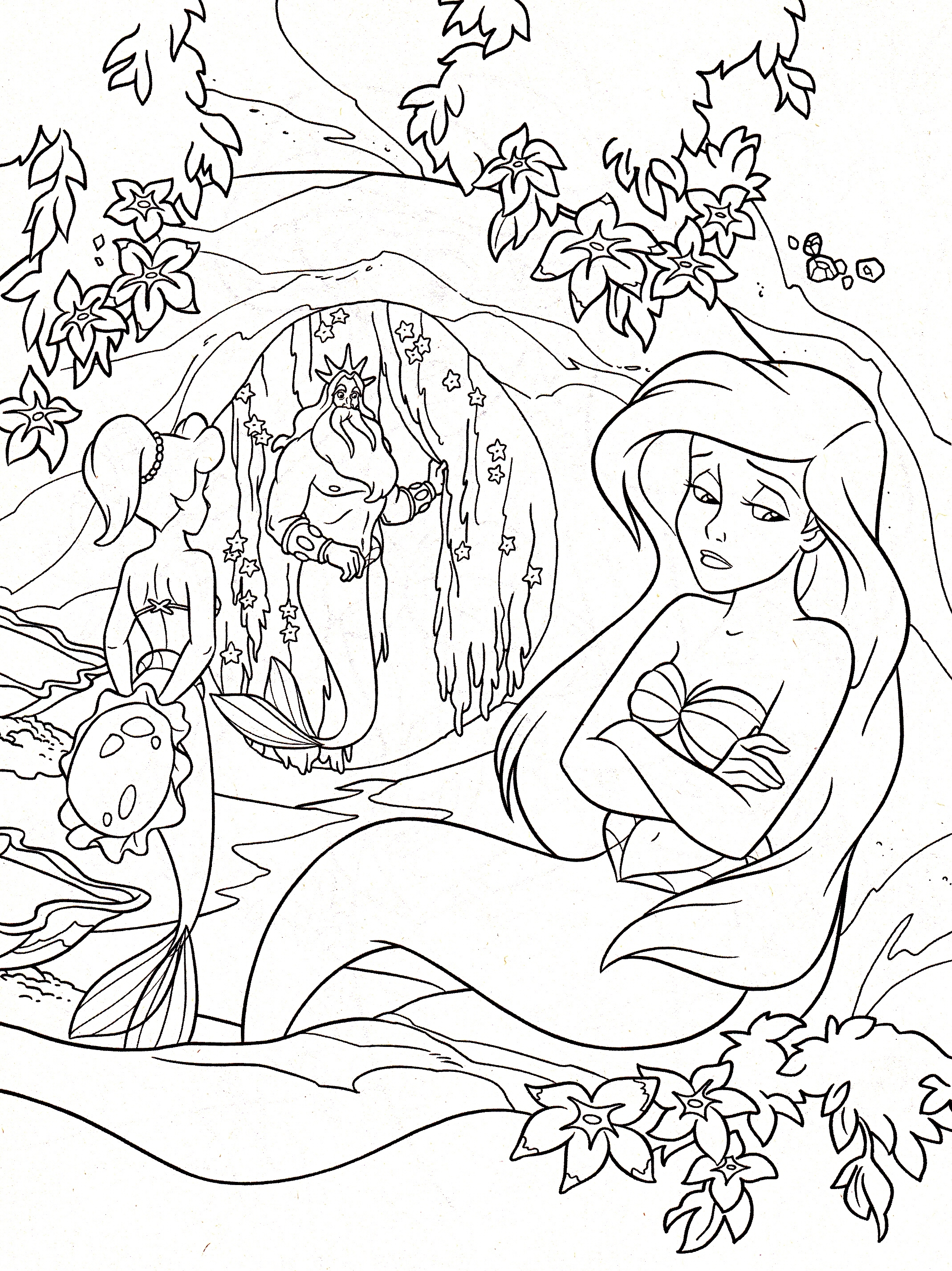 2138x2853 Realistic Princess Coloring Pages For Adults Printable